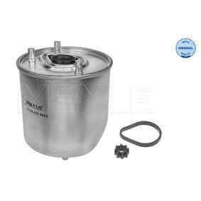2014 Peugeot 3008 Mk1 1.6 BlueHDi 115 Fuel filter 11-14 323 0003