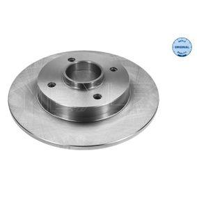 Bremsscheibe Bremsscheibendicke: 9mm, Lochanzahl: 4, Ø: 249mm mit OEM-Nummer 4249 34