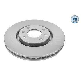 Bremsscheibe Bremsscheibendicke: 26mm, Lochanzahl: 4, Ø: 283mm mit OEM-Nummer E169142