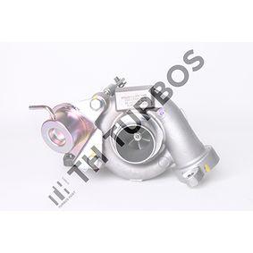 TURBO´S HOET Turbocompresor, sobrealimentación 1103358 con OEM número 9657603780