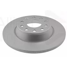 Спирачен диск дебелина на спирачния диск: 12,0мм, брой на дупките: 5, Ø: 282,0мм с ОЕМ-номер 5Q0615601G