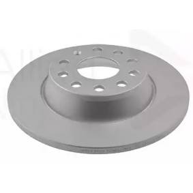 Bremsscheibe Bremsscheibendicke: 12,0mm, Lochanzahl: 5, Ø: 282,0mm mit OEM-Nummer 1K 0615 601 AD