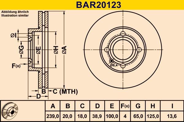 Scheibenbremsen Barum BAR20123 Bewertung