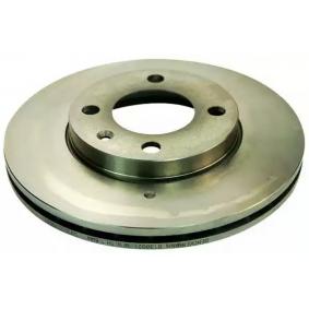Bremsscheibe Bremsscheibendicke: 20,0mm, Lochanzahl: 4, Ø: 239,0mm mit OEM-Nummer 321615301A