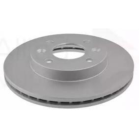 Bremsscheibe Bremsscheibendicke: 20,1mm, Lochanzahl: 4, Ø: 238,0mm mit OEM-Nummer 40206 00Q0D