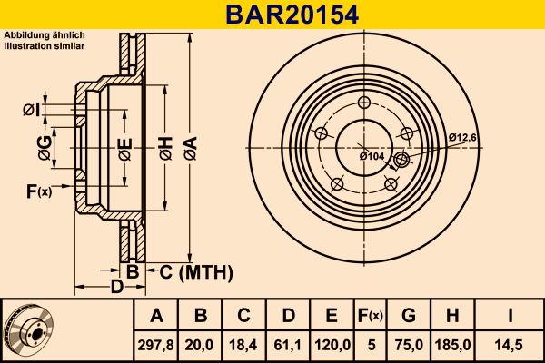 Scheibenbremsen Barum BAR20154 Bewertung