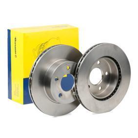 Bremsscheibe Bremsscheibendicke: 22,0mm, Lochanzahl: 5, Ø: 276,0mm mit OEM-Nummer A 638 421 0112