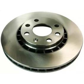 Bremsscheibe Bremsscheibendicke: 24,0mm, Lochanzahl: 4, Ø: 256,0mm mit OEM-Nummer 90 48 7402