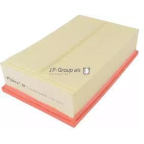 Luftfilter Länge: 292mm, Breite: 177mm, Höhe: 80mm mit OEM-Nummer 5Q0 129 620 D