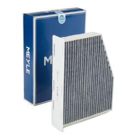 Filter, Innenraumluft Länge: 211mm, Breite 1: 288mm, Höhe: 57mm, Breite 2: 150mm mit OEM-Nummer 1K2819669