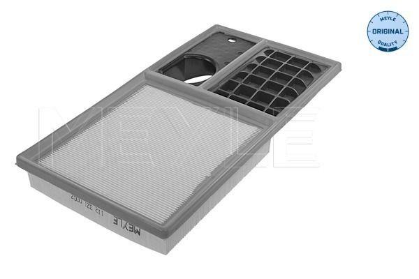 MEYLE  112 321 0007 Air Filter Length: 375mm, Width: 190mm, Height: 43mm, Length: 375mm