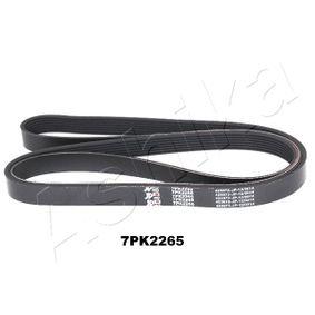 V-Ribbed Belts 112-7PK2265 CR-V 2 (RD) 2.2 CTDi (RD9) MY 2006