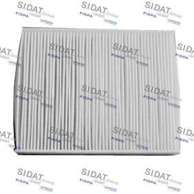 Filter, Innenraumluft Länge: 237mm, Breite: 190mm, Höhe: 35mm mit OEM-Nummer 256H-19G244-AA