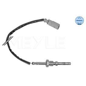 Sensor, Abgastemperatur Kabellänge: 720mm, 2-polig mit OEM-Nummer 03L.906.088 CC