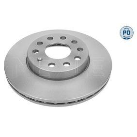 Bremsscheibe Bremsscheibendicke: 24mm, Lochanzahl: 5, Ø: 276mm mit OEM-Nummer 2Q0 615 301 H