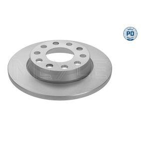 Bremsscheibe Bremsscheibendicke: 12mm, Lochanzahl: 5, Ø: 255mm mit OEM-Nummer 8E0615601D