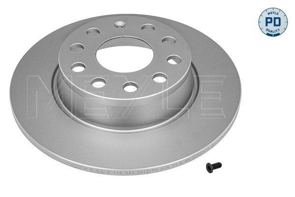 MEYLE  115 523 0012/PD Bremsscheibe Bremsscheibendicke: 10mm, Lochanzahl: 5, Ø: 272mm
