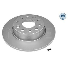 Bremsscheibe Bremsscheibendicke: 10mm, Lochanzahl: 5, Ø: 272mm mit OEM-Nummer 6R0615601
