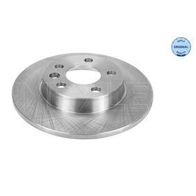 Bremsscheibe Bremsscheibendicke: 12mm, Lochanzahl: 5, Ø: 280mm mit OEM-Nummer 701615601/A