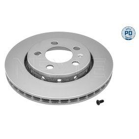 Bremsscheibe Bremsscheibendicke: 22mm, Lochanzahl: 5, Ø: 256mm mit OEM-Nummer 8L0 615 601