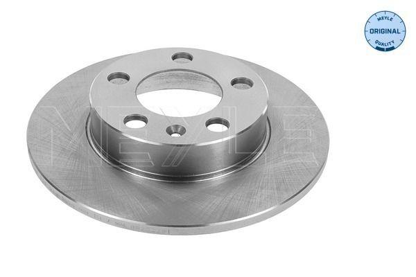 MEYLE  115 523 0037 Bremsscheibe Bremsscheibendicke: 9mm, Lochanzahl: 5, Ø: 232mm