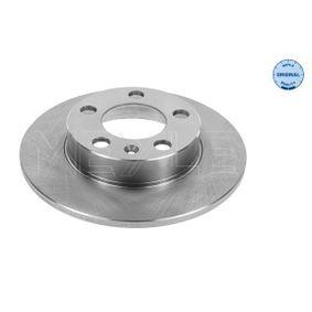 Bremsscheibe Bremsscheibendicke: 9mm, Lochanzahl: 5, Ø: 232mm mit OEM-Nummer 1J0 615 601N