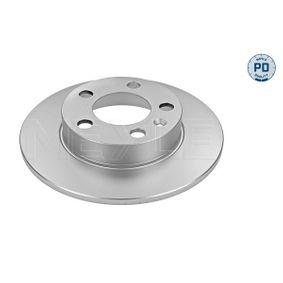 Bremsscheibe Bremsscheibendicke: 9mm, Lochanzahl: 5, Ø: 232mm mit OEM-Nummer 1J0 615 601 P
