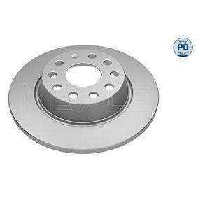 Bremsscheibe Bremsscheibendicke: 12mm, Lochanzahl: 5, Ø: 282mm mit OEM-Nummer 5Q0 615 601G