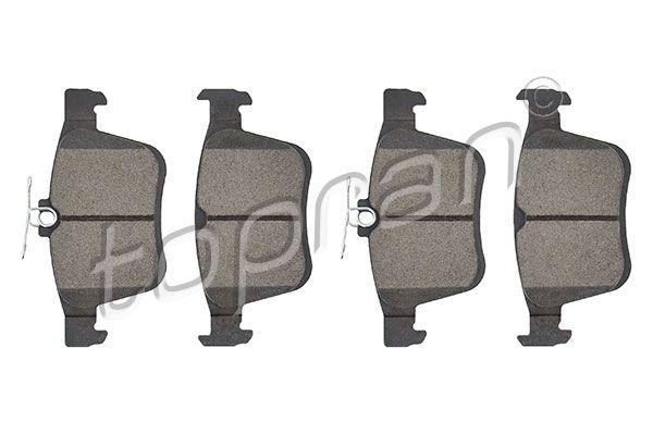 TOPRAN  115 815 Bremsbelagsatz, Scheibenbremse Dicke/Stärke 1: 16,3mm