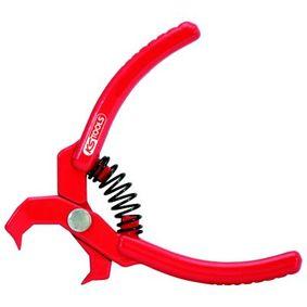 Alicate de desbloqueio, tubo flexível