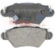 OEM Brake Pad Set, disc brake METZGER 23263 for CHEVROLET