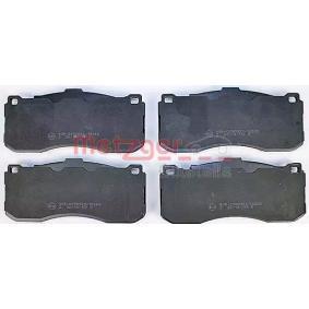 Bremsbelagsatz, Scheibenbremse Breite: 163mm, Höhe: 73,6mm, Dicke/Stärke: 16,3mm mit OEM-Nummer 34116786044