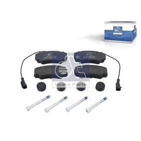 Bremsbelagsatz, Scheibenbremse Breite: 109,5mm, Höhe: 50mm, Dicke/Stärke: 19,1mm mit OEM-Nummer 425468
