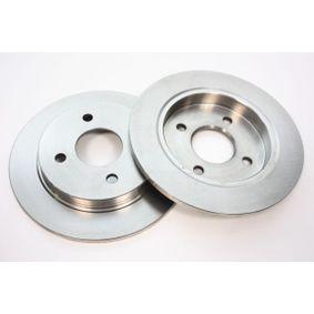 Brake Disc Brake Disc Thickness: 11mm, Ø: 253mm with OEM Number 1 51 4237