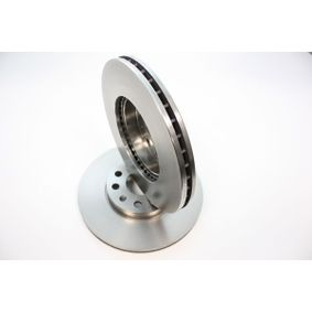 Bremsscheibe Bremsscheibendicke: 25mm, Ø: 288mm mit OEM-Nummer 5C0 615 301 A