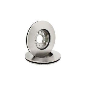 Bremsscheibe Bremsscheibendicke: 25mm, Ø: 288mm mit OEM-Nummer 1K0615301K