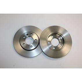 Brake Disc Brake Disc Thickness: 22mm, Num. of holes: 5, Ø: 256mm with OEM Number 8Z0 615 301 D