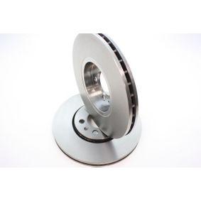 Bremsscheibe Bremsscheibendicke: 25mm, Ø: 288mm mit OEM-Nummer 1J0 615 301 K