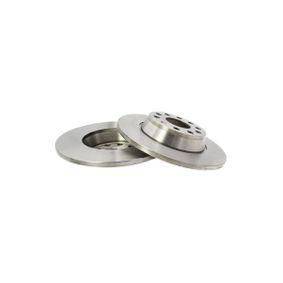 Bremsscheibe Bremsscheibendicke: 12mm, Ø: 286mm mit OEM-Nummer 1K0615601AD