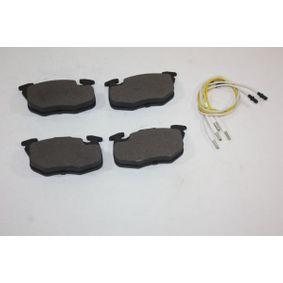 Bremsbelagsatz, Scheibenbremse Breite: 105,0mm, Höhe: 54,0mm, Dicke/Stärke: 18,0mm mit OEM-Nummer 4248 62