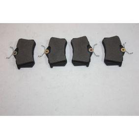 Bremsbelagsatz, Scheibenbremse Breite: 87,6mm, Höhe: 52,9mm, Dicke/Stärke: 16,4mm mit OEM-Nummer 191615415D