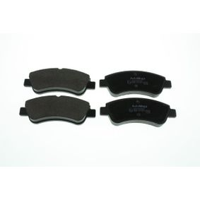Brake Pad Set, disc brake Width: 136,8mm, Height: 52,0mm, Thickness: 19,0mm with OEM Number E172227