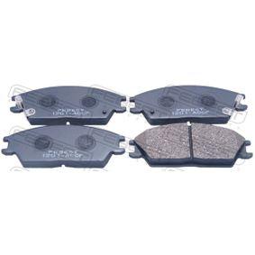 Bremsbelagsatz, Scheibenbremse Breite: 127,6mm, Höhe: 50mm, Dicke/Stärke: 15,8mm mit OEM-Nummer 5810125A20