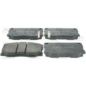 Bremsbelagsatz, Scheibenbremse Breite: 139,3mm, Höhe: 75,6mm, Dicke/Stärke: 18,3mm mit OEM-Nummer 581015HA30