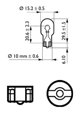 Bulb, indicator PHILIPS GOC48272328 expert knowledge