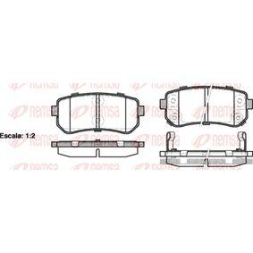 2013 Kia Sportage Mk3 1.7 CRDi Brake Pad Set, disc brake 1209 02
