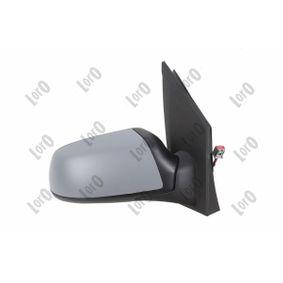 ABAKUS Espejo lateral derecha, eléctrico, abatible eléctricamente, convexo, térmico, imprimado