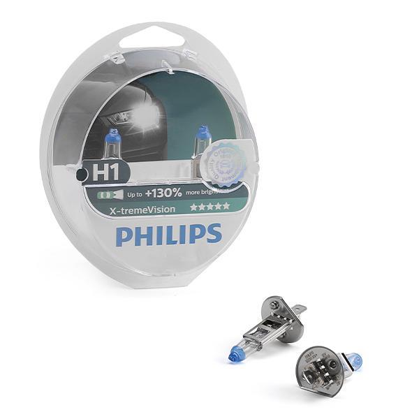 Glühlampe, Fernscheinwerfer 12258XV+S2 PHILIPS H1 in Original Qualität