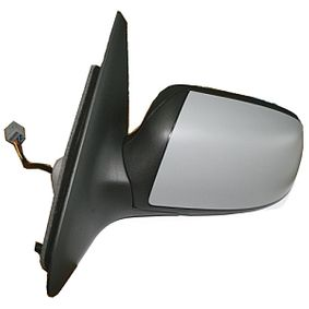 ABAKUS Side view mirror Right, Electric, Convex, Electronically foldable, Heated, Primed