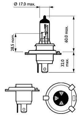 Glühlampe, Fernscheinwerfer PHILIPS GOC78028760 Erfahrung
